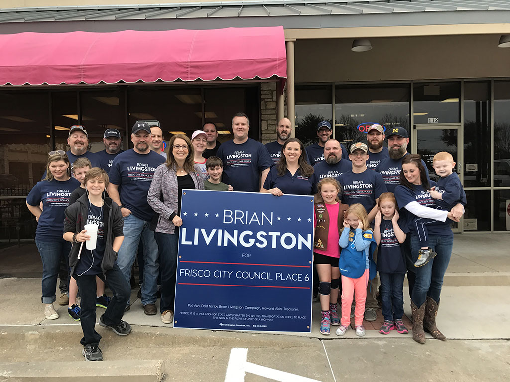 Brian Livingston Frisco Supporters